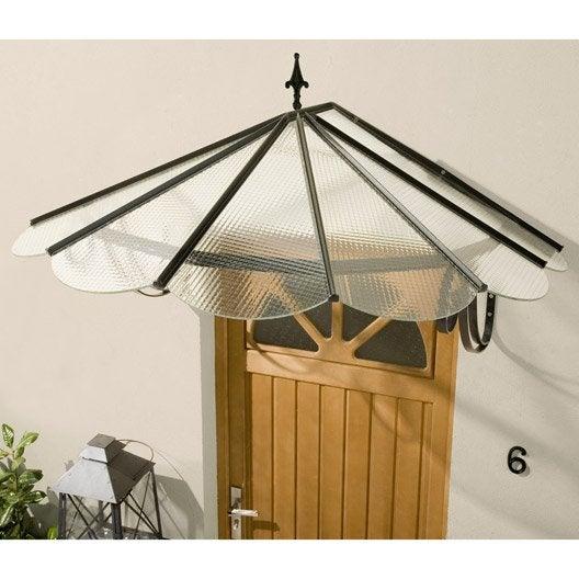 auvent en kit eventail x x cm leroy merlin. Black Bedroom Furniture Sets. Home Design Ideas