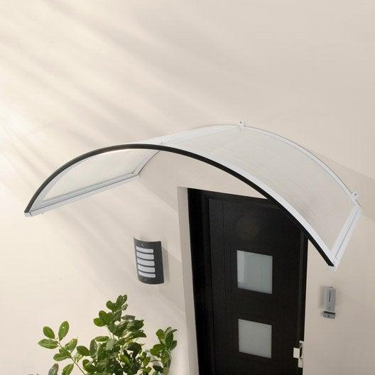 auvent en kit onyx structure en aluminium 158 x 38 x 75. Black Bedroom Furniture Sets. Home Design Ideas