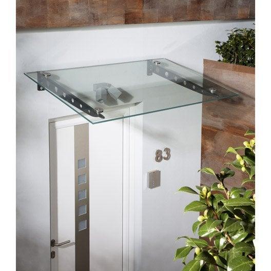 verre pour auvent transparent x x h cm. Black Bedroom Furniture Sets. Home Design Ideas