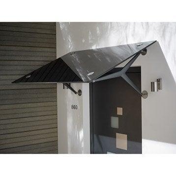 Auvent de porte marquise de porte leroy merlin - Auvent de porte de garage ...