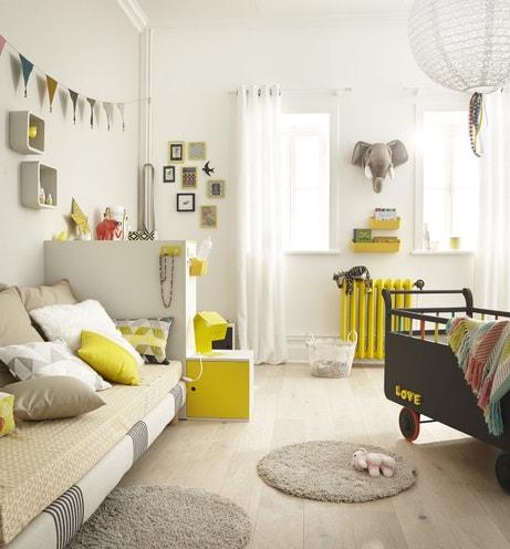 Une chambre d'enfant au style scandinave