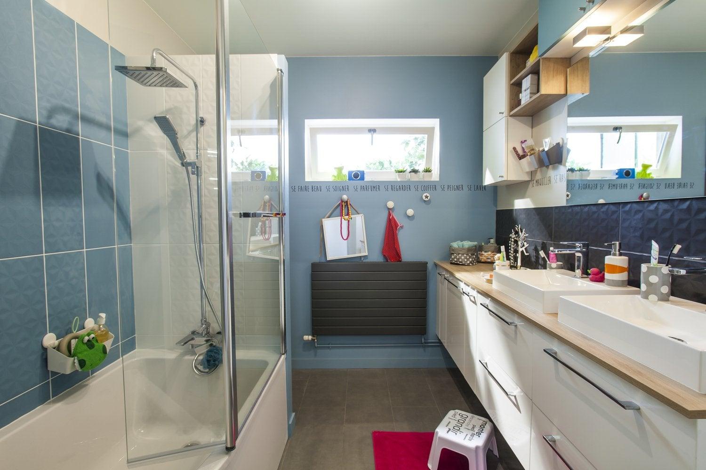 Meuble de salle de bains et vasque leroy merlin - Meuble salle de bain d angle leroy merlin ...