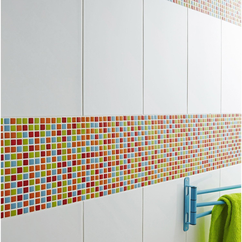 Mosaïque mur Pop multicolore 1.5 x 1.5 cm | Leroy Merlin