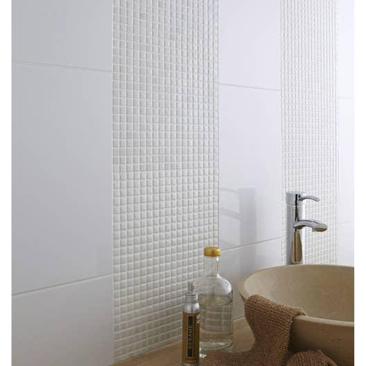 Specialiste Salle De Bain Toulouse ~ Mosa Que Mur Pop Blanc Leroy Merlin