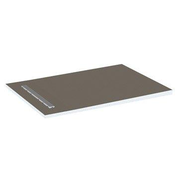 Receveur de douche à carreler rectangulaire L.140 x l.90 cm, LUX ELEMENTS