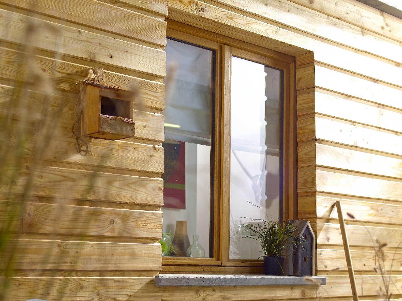 Comment poser une fen tre en tunnel ou en feuillure - Poser une fenetre bois ...