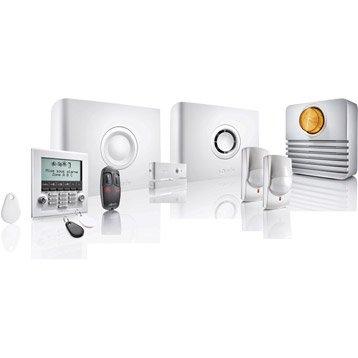 alarme maison syst me d 39 alarme t l surveillance leroy merlin. Black Bedroom Furniture Sets. Home Design Ideas