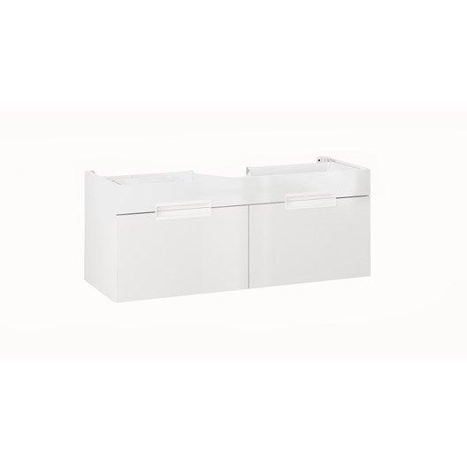 meuble sous vasque x x cm blanc eden leroy merlin. Black Bedroom Furniture Sets. Home Design Ideas