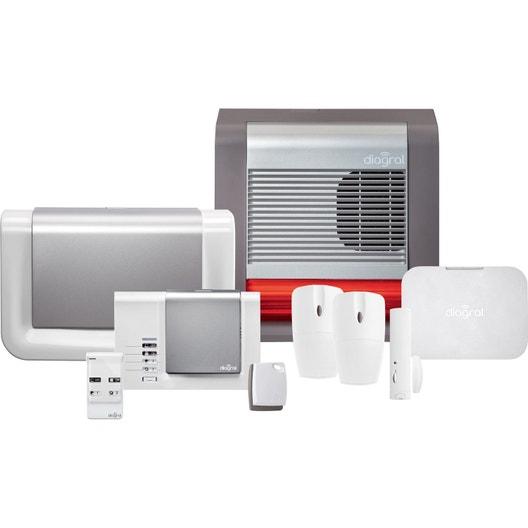 alarme maison sans fil somfy ou diagral