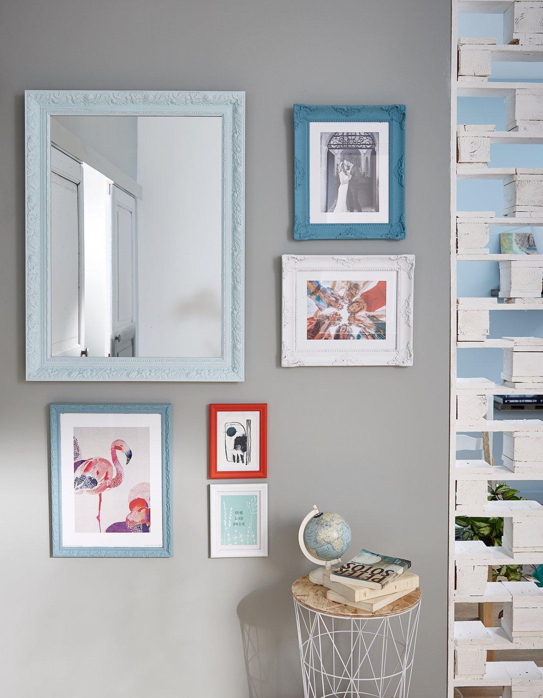 accrochez ses cadres au mur c 39 est partager ses souvenirs leroy merlin. Black Bedroom Furniture Sets. Home Design Ideas
