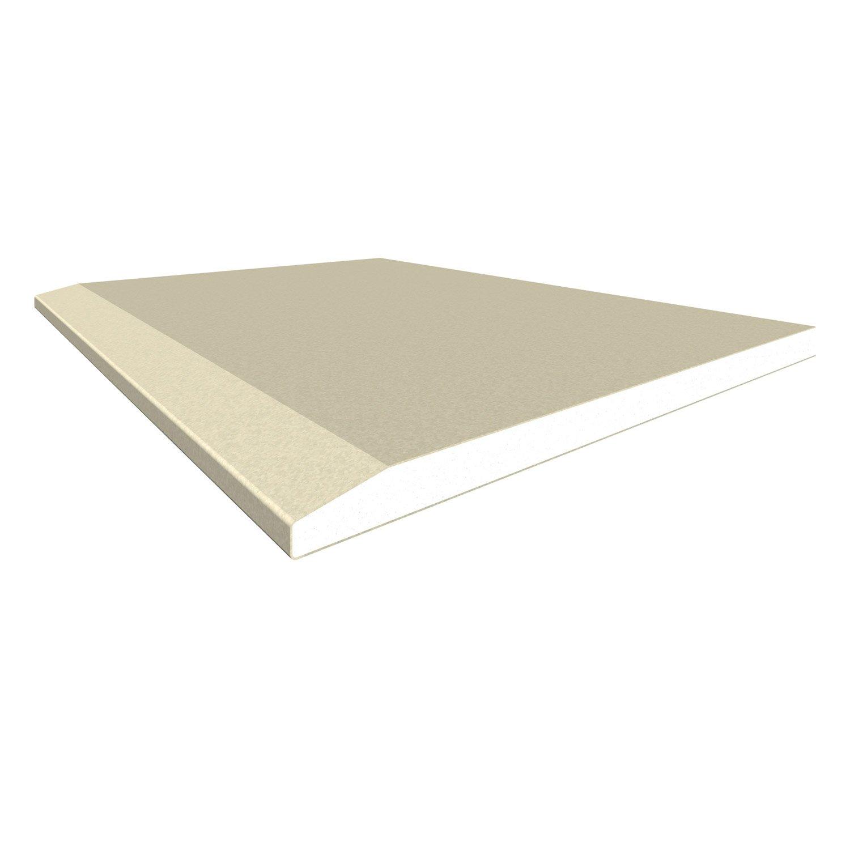 Plaque De Platre Ba10 à plaque de plâtre ce 2.5 x 1.2 m, ba13, entraxe 40 cm | leroy merlin