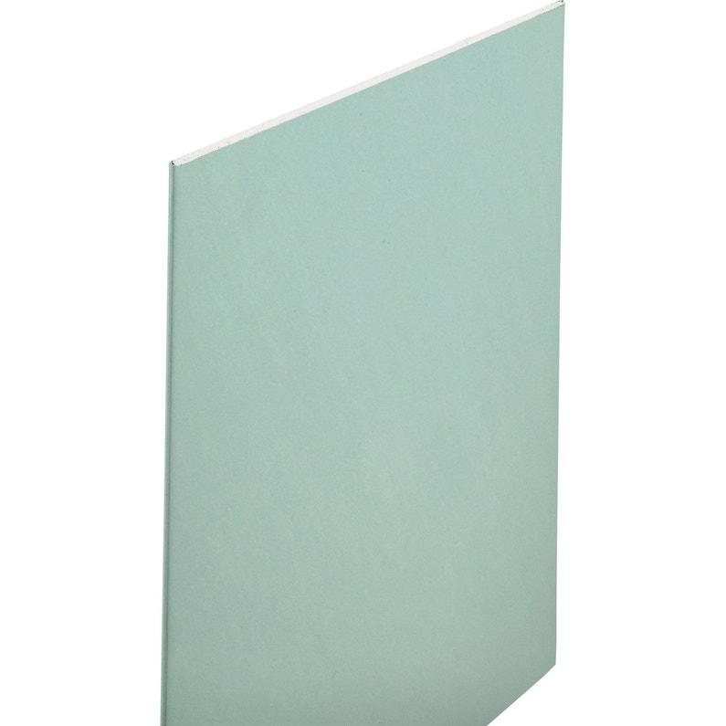 Plaque De Plâtre Ba 13 H250 X L60 Cm Hydrofuge Nf Siniat