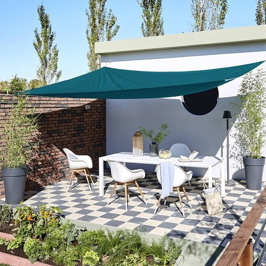 Voile d\'ombrage - Toile tendue terrasse, jardin au meilleur prix ...