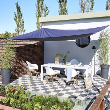 Voile DOmbrage  Toile Tendue Terrasse Jardin Au Meilleur Prix