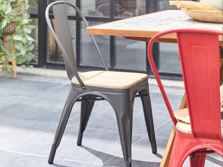 Chaise Pour L Interieur Et L Exterieur Leroy Merlin