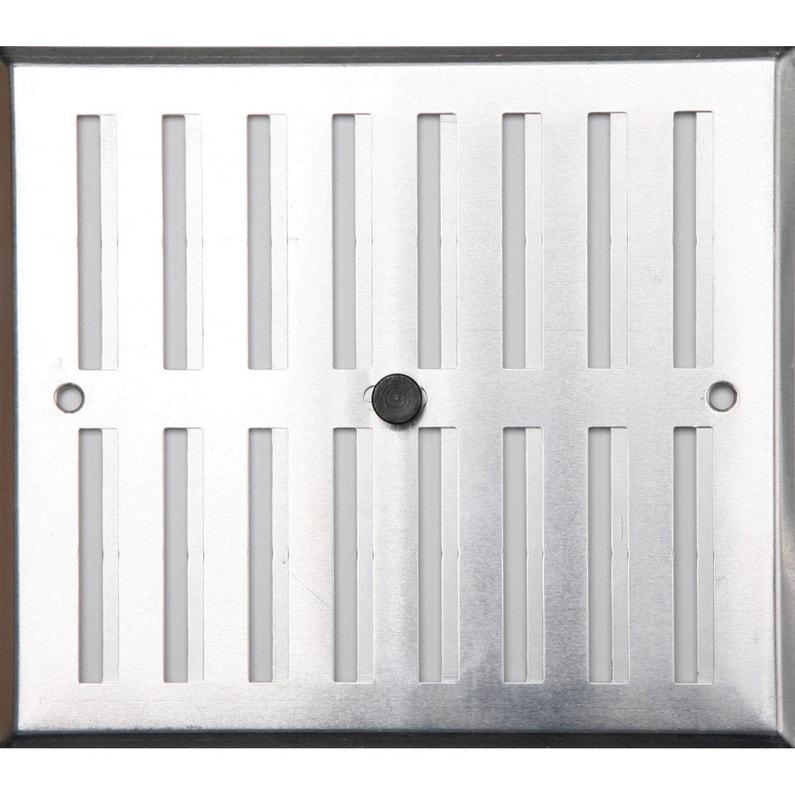 grille d 39 a ration aluminium anodis x cm. Black Bedroom Furniture Sets. Home Design Ideas