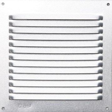 grille d 39 a ration grille de ventilation bouche a ration au meilleur prix leroy merlin. Black Bedroom Furniture Sets. Home Design Ideas