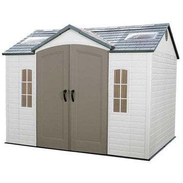 Abri de jardin abri garage rangement et tendage - Leroy merlin jardin st brieuc nantes ...