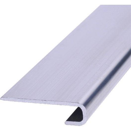 Profil de d part aluminium aluminium 8 x 30 mm 2 7 m leroy merlin - Bardage aluminium prix ...