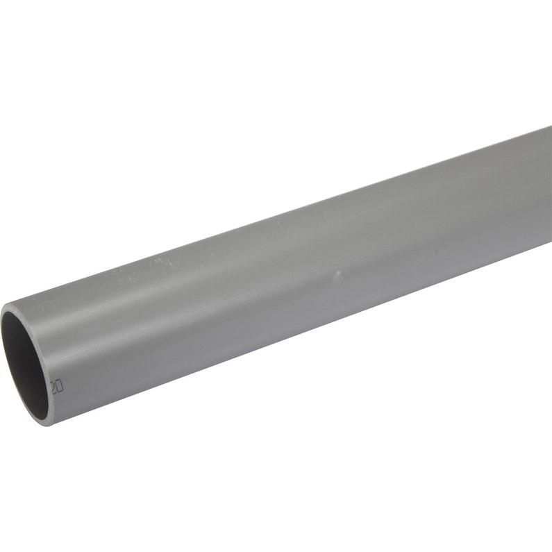 Tube Dévacuation Pvc Diam50 Mm L2 M