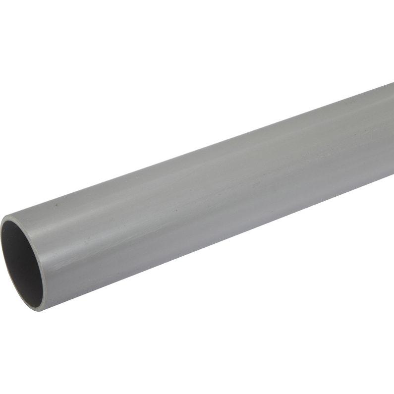 Tube D évacuation Pvc Diam 63 Mm L 2 M