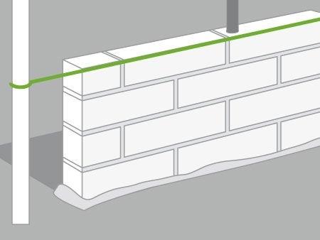 Comment Construire Un Mur En Briques Leroy Merlin Construire Un Mur  Exterieur With Oeil De Boeuf Leroy Merlin