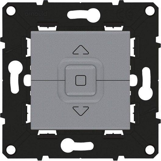 commande volet roulant espace volution arnould gris. Black Bedroom Furniture Sets. Home Design Ideas
