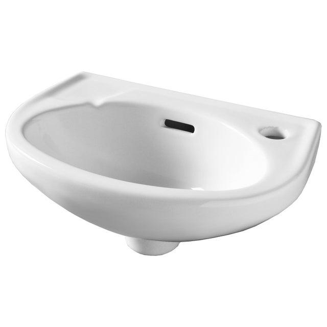 Lave Mains Céramique Blanc L 35 X P 23 Cm Murcie
