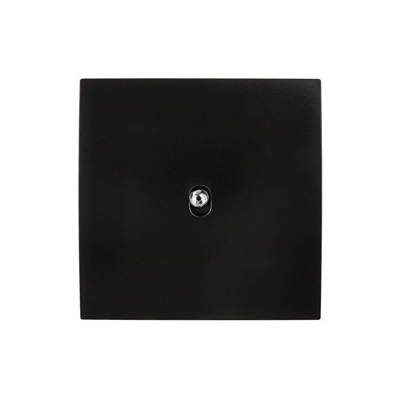 Interrupteur Va Et Vient Karo Noir Modul Design Leroy Merlin