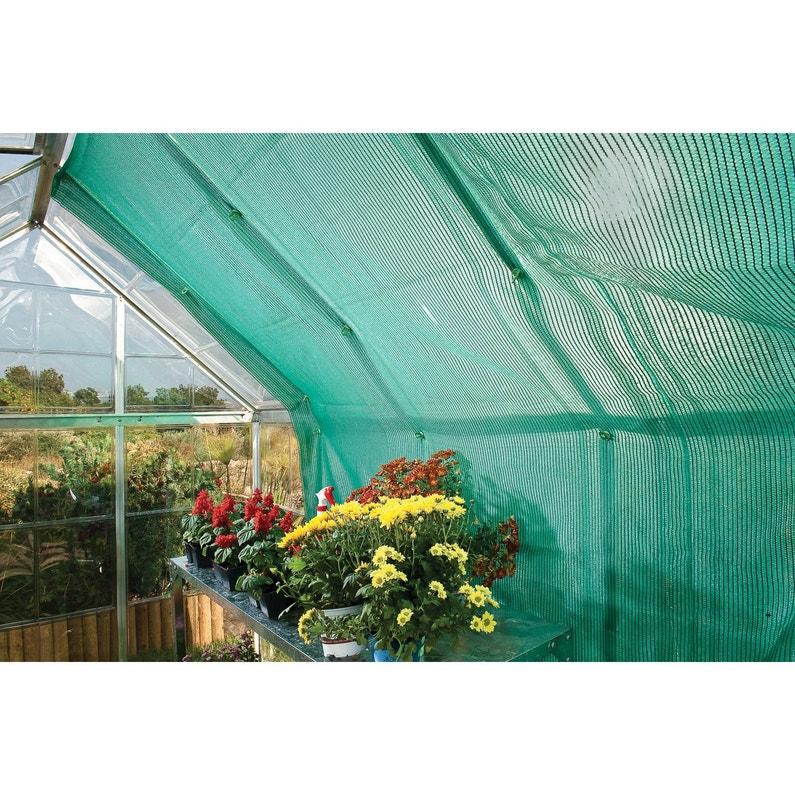 Toile d\'ombrage 240x265cm pour serres de jardin PALRAM