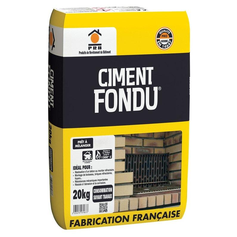 Ciment Gris Réfractaire Ce Prb 20 Kg