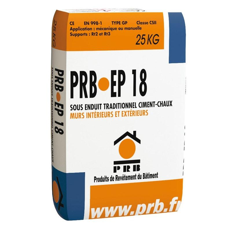 Sous Enduit Prb Ep 18 25kg Prb
