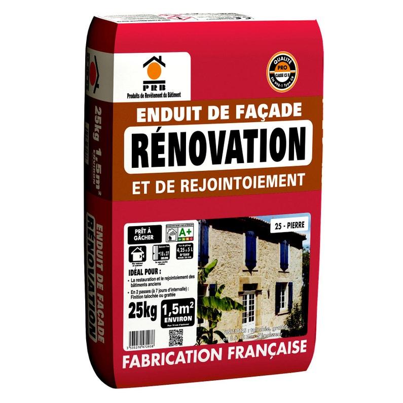 Enduit De Rénovation Ton Pierre Prb 25 Kg