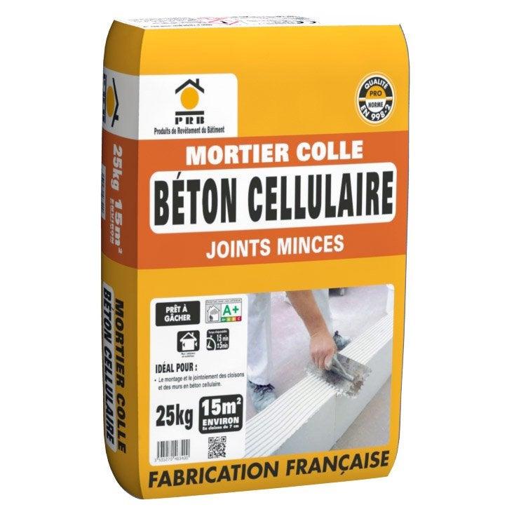 Captivating Mortier Colle Poudre PRB Blanc, 25 Kg