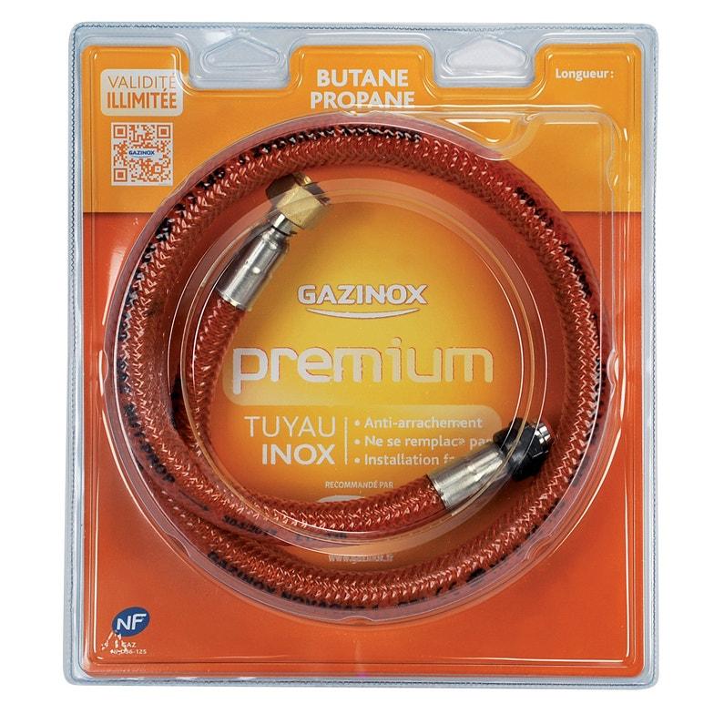 Flexible Inox Gaz Bp Validité Illimitée Garantie à Vie H1m Masterinox Premium