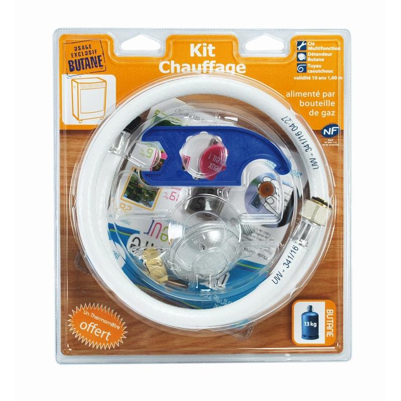 Kit De Raccordement Chauffage Na Pour Gaz Butane L1 M Garantie 2