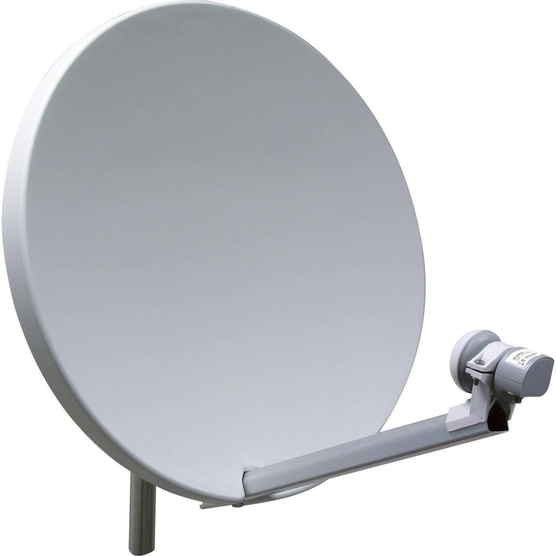 antenne satellite parabolique fibre composite de 60 à 80 cm