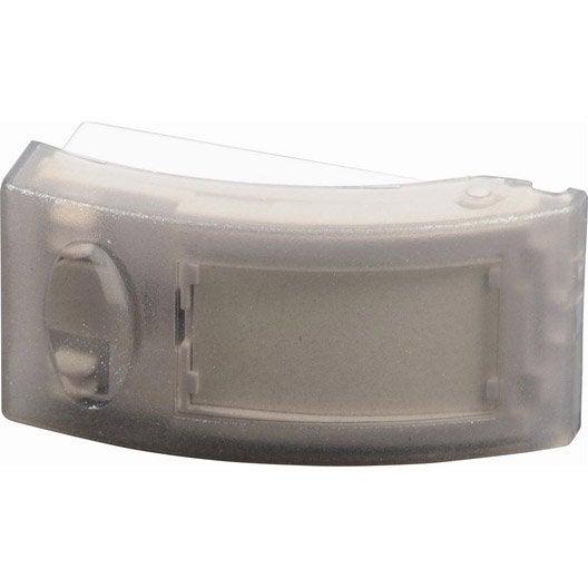 bouton de sonnette filaire scs sentinel golf 64002 blanc leroy merlin. Black Bedroom Furniture Sets. Home Design Ideas