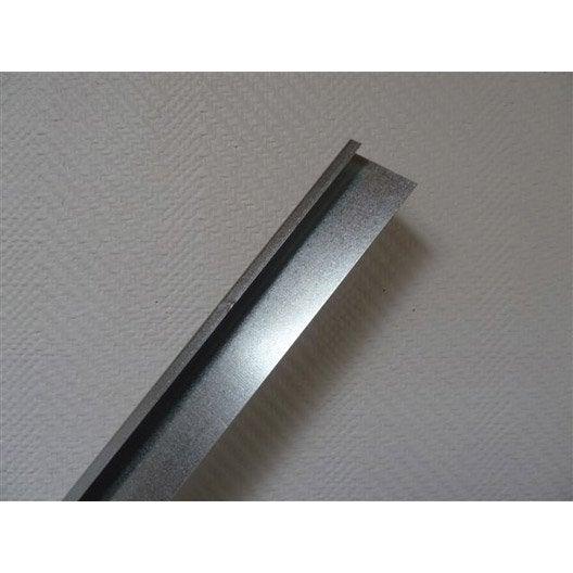 Profil de d part universel acier galvanis 15 x 40 mm l 2 m leroy merlin - Acier s ...