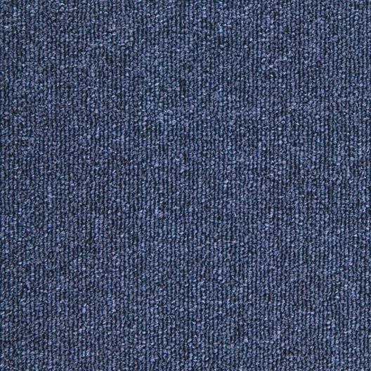 dalle moquette boucl e diva bleu fonc x cm leroy merlin. Black Bedroom Furniture Sets. Home Design Ideas