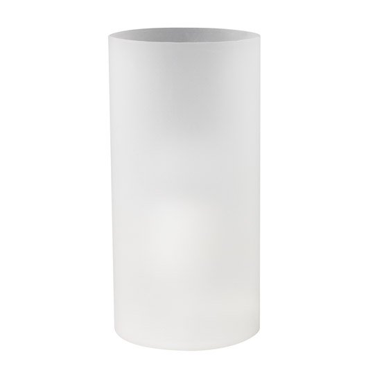 Lampe basic verre blanc 60w leroy merlin - Lampe a poser leroy merlin ...