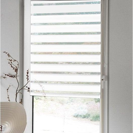store enrouleur jour nuit jour nuit inspire blanc blanc. Black Bedroom Furniture Sets. Home Design Ideas