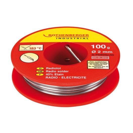 Etain 40 radio lectricit etain rothenberger leroy merlin - Produit pour nettoyer l etain ...