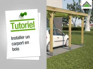 Comment installer un carport en bois ?