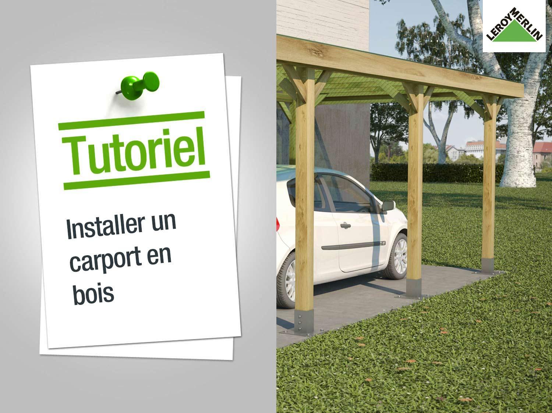 Comment installer un carport en bois ?