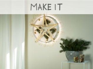 DIY : Fabriquer une couronne de Noël originale