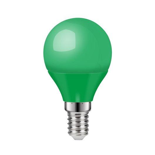 leroy merlin lampe torche ampoule led ronde verte e w. Black Bedroom Furniture Sets. Home Design Ideas