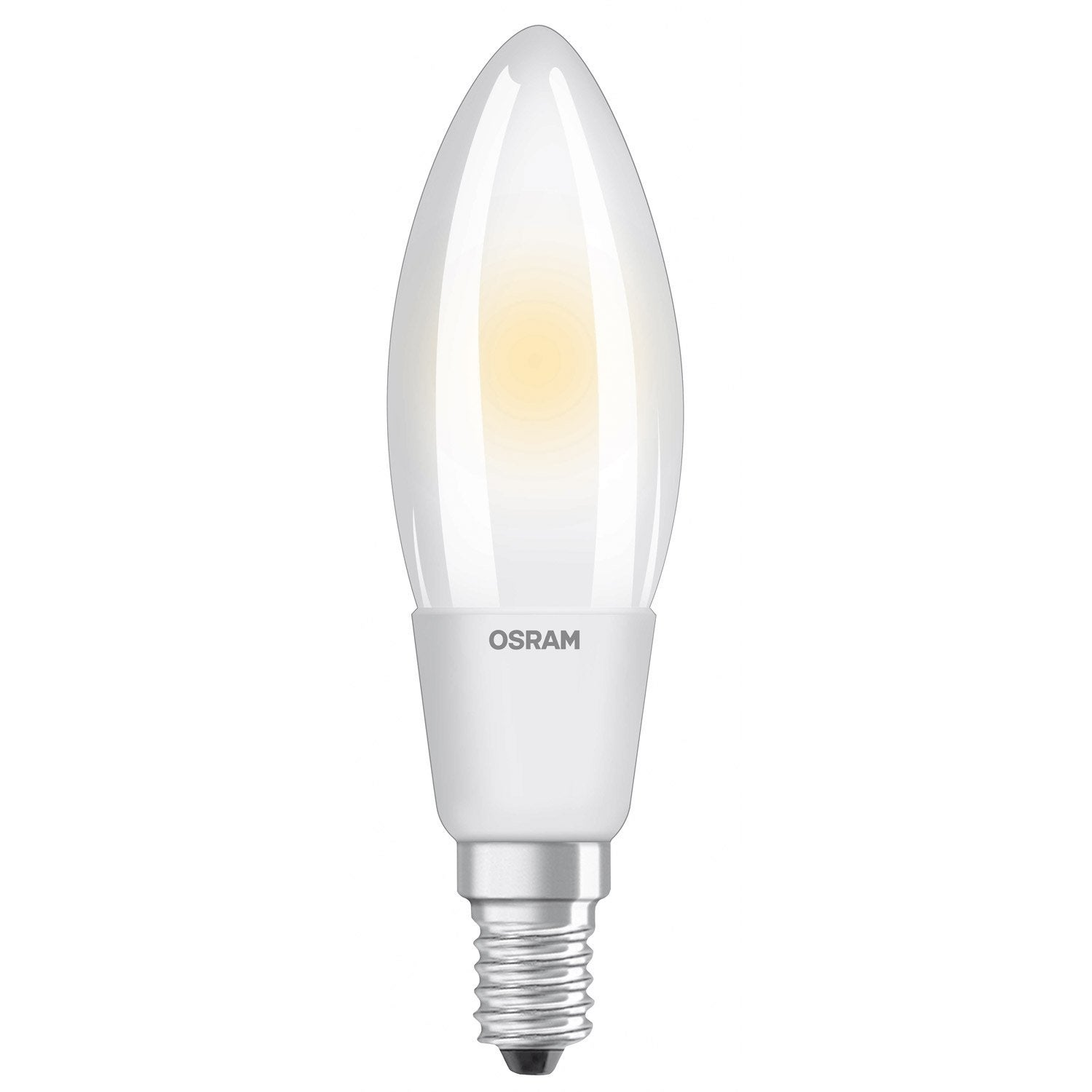 Led Bulb E27 Flame Dimmable 5w 470lm Equiv 40w 2700k 300 Osram