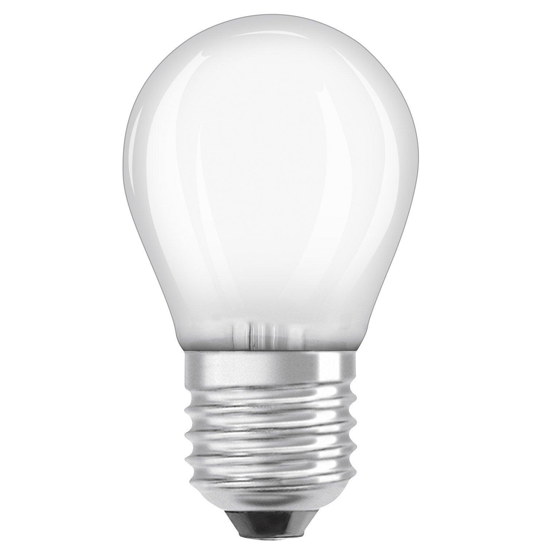 Round Led Bulb E27 4w 470lm Equiv 40w 2700k Osram