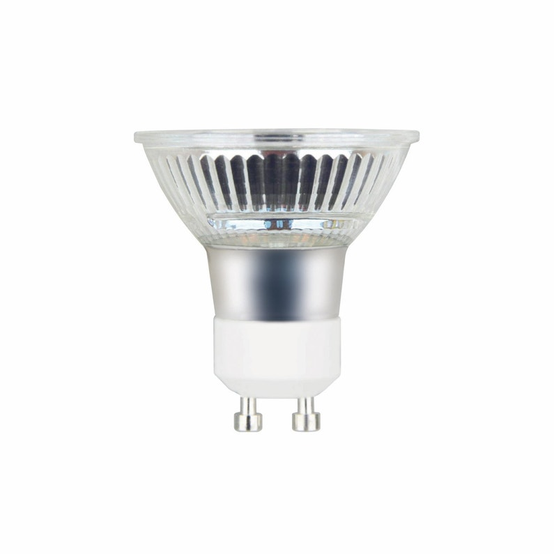 ampoule led gu10 dimmable pour spot, 4w = 460lm (équiv 50w) 4000k